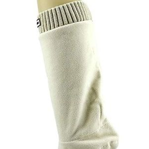 Michael Kors ribbed sock Ivory Vanilla